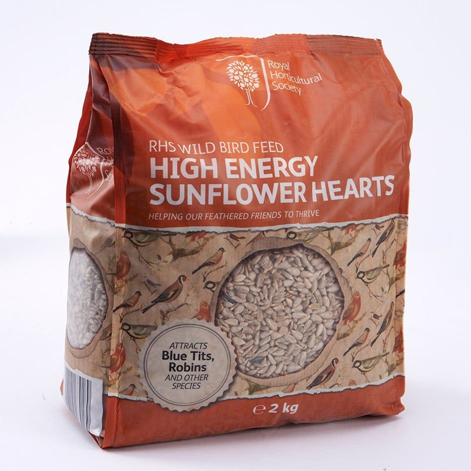 RHS High energy sunflower hearts