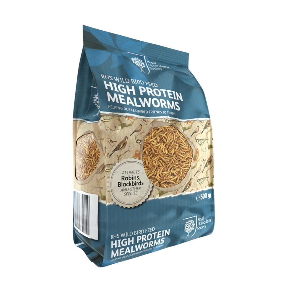 RHS High protein mealworms