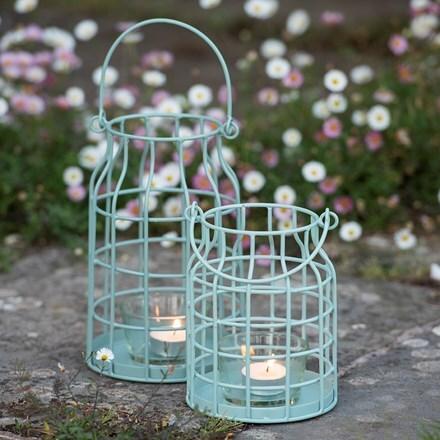 Cage tealight lantern