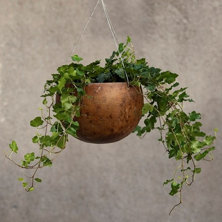 Hanging gourd bowl - small