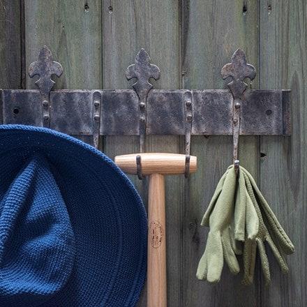 Wall hooks - fleur de lys