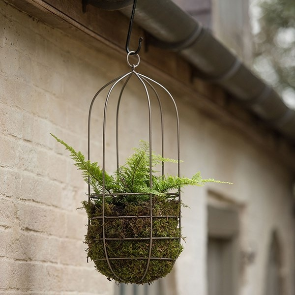 Hanging plant cage - tall