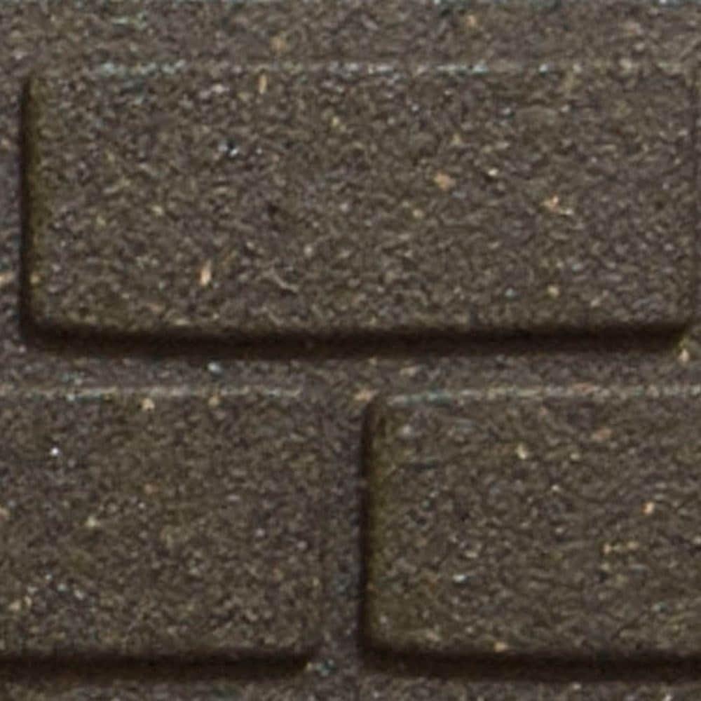 Recycled garden border ultra curve brick