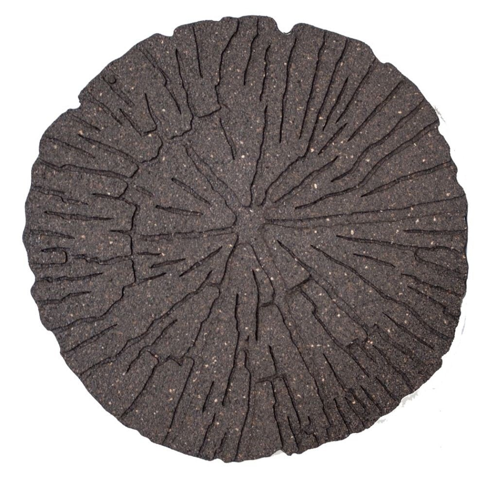 Buy Recycled Stepping Stone Cracked Log Delivery By Crocus