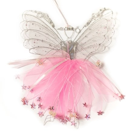 Double winged fairy pale pink