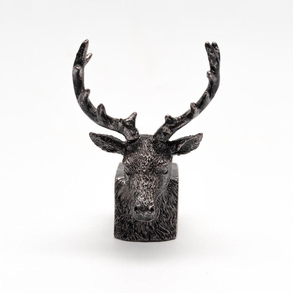 Potty feet bronze stag