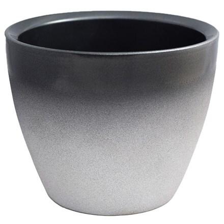 Turno planter silver
