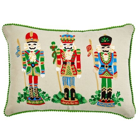 Nutcracker cushion