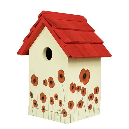 Poppy bird box