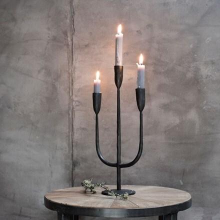 Mbata brass candelabra