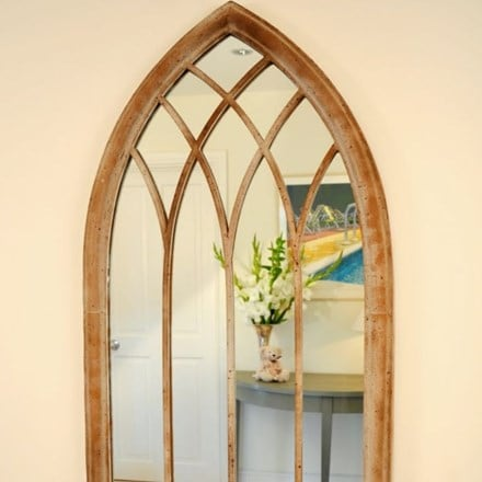 Worcester metal mirror