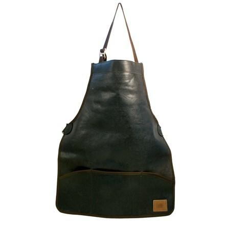 Haws full length leather apron