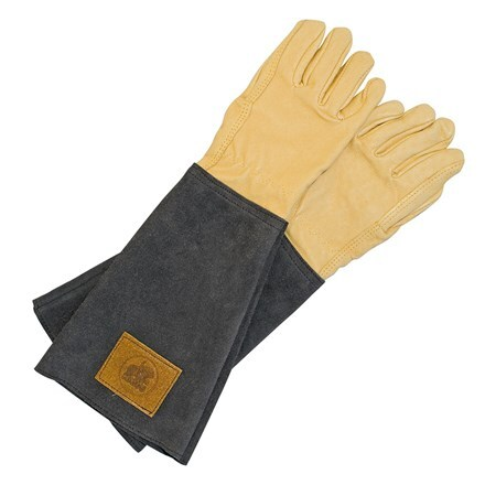 Haws mens leather gauntlet gloves