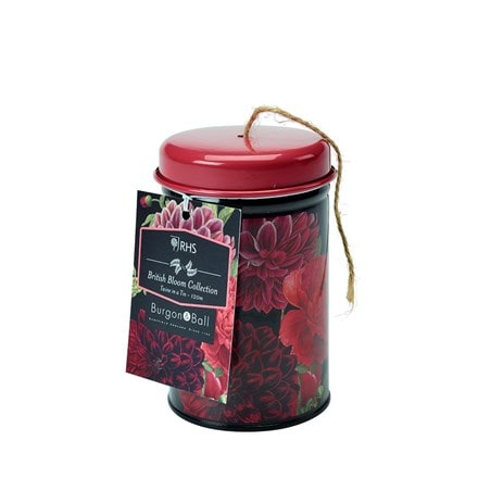 RHS Burgon and Ball British bloom twine in a tin