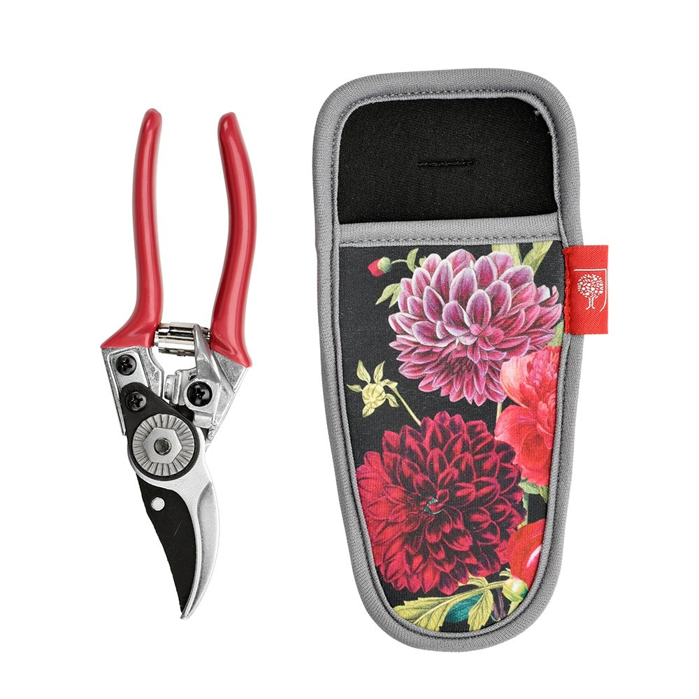 RHS Burgon and Ball British bloom pruner and holster gift set