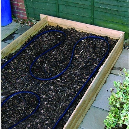 Vegetable bed soaker hose - 4 metres