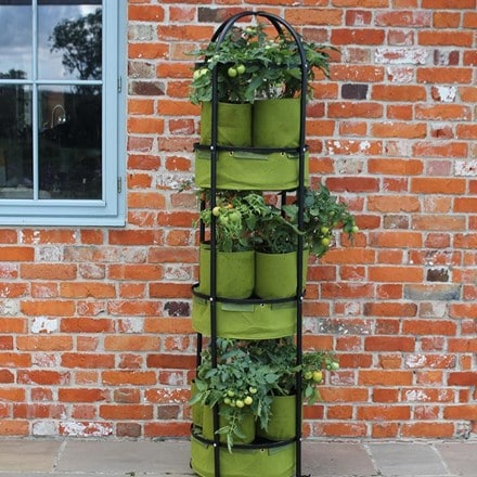 Vigoroot self-watering tower garden