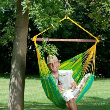 Hammock chair - lime