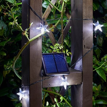 50 solar super bright stars string lights