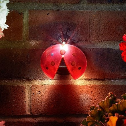 Lady bug lights 4 pack red