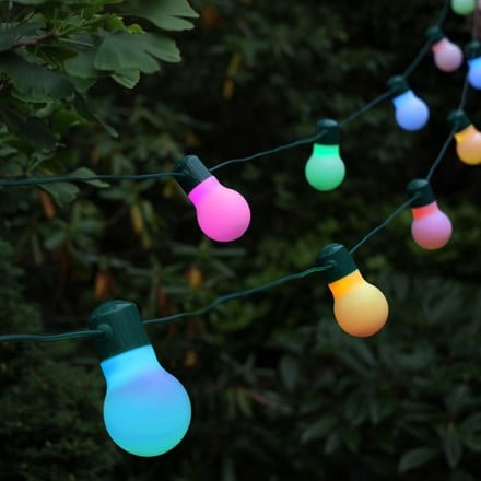 Solar party lights - set of 20