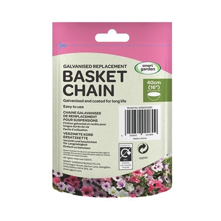 Hanging basket 3 way chain