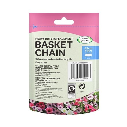 Hanging basket 4 way chain