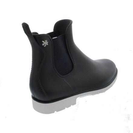Jumpy Chelsea boot marine/blanc