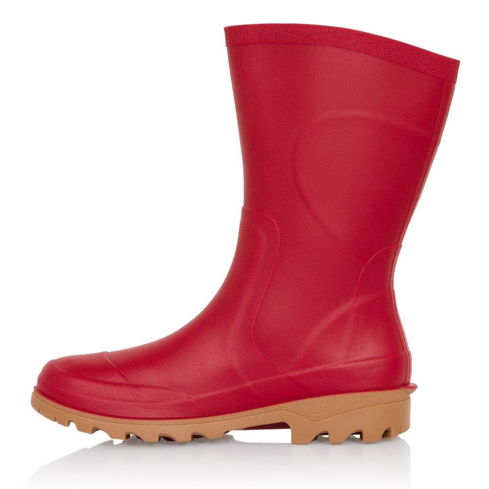 Cobalt half boot rouge