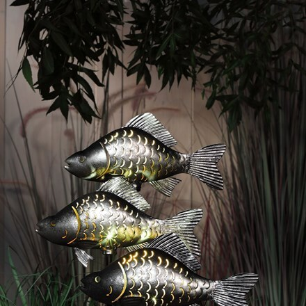 Solar carp stake light