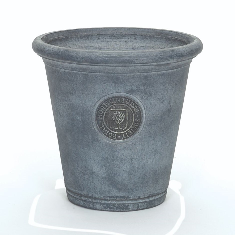 RHS Chelsea light grey cone