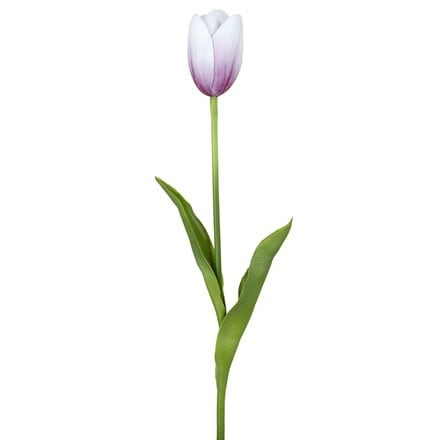 Artificial tulip bud stem