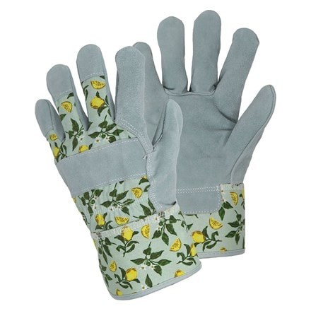 April Raven Sicilian lemon rigger gloves