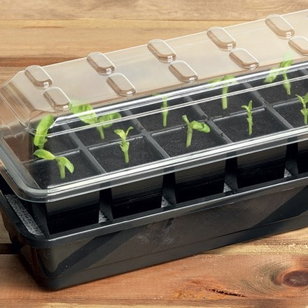 Ultimate 12 cell self watering seed success kit