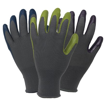 Ladies seed and weed gloves - triple pack