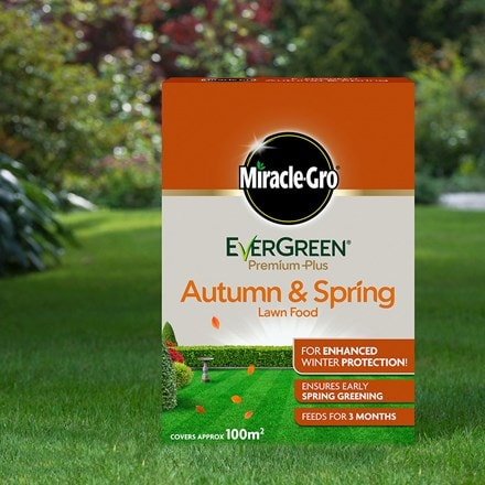 Miracle-gro evergreen premium plus autumn and spring lawn food
