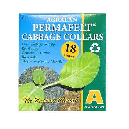 Permafelt cabbage collars - pack of 18