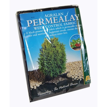 Permafelt weed control fabric