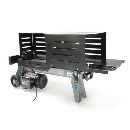 Handy 6 ton electric log splitter with guards