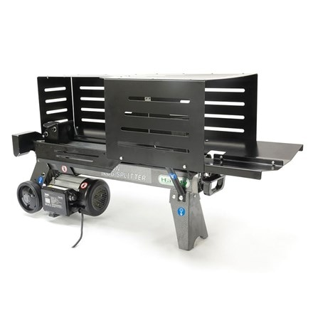 Handy 4 ton electric log splitter with guards