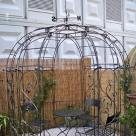 Imperial traditional 6 sided gazebo with side panels