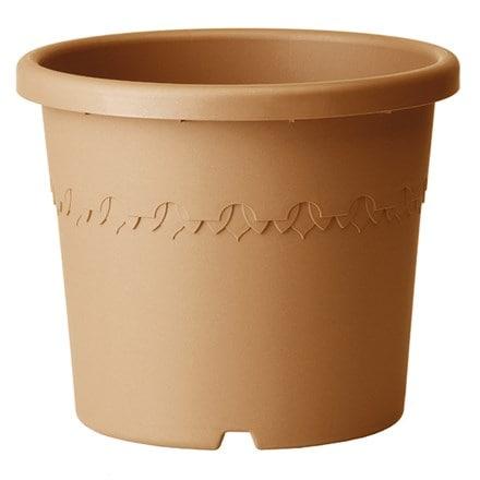 Algarve cilindro terracotta wheeled pot