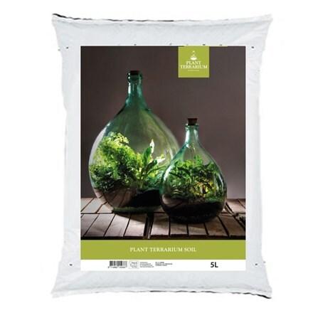 Plant terrarium soil