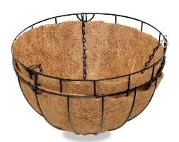 Traditional hanging basket - twin pack