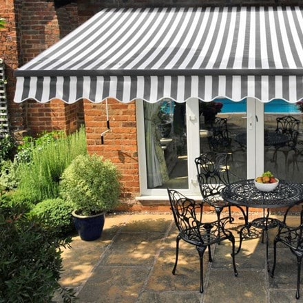 Deluxe easy fit awning - Kensington