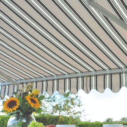 Deluxe easy fit awning - Ascot