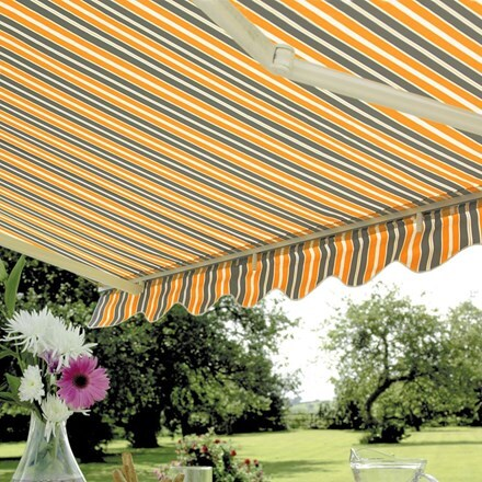 Deluxe easy fit awning - Windsor
