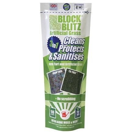 Block Blitz artificial grass cleaner