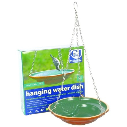 Hanging water dish - small