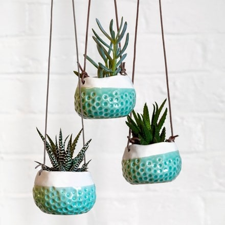 Hanging pot - baby dotty
